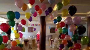 Helium Gas Balloon Decoration