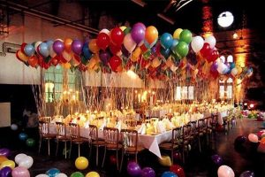 Surprise birthday party decorations