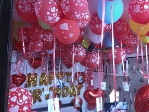 Surprise birthday party decorations in gurgaon